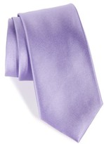 Nordstrom Men's Solid Satin Silk Tie