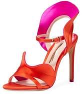 Sophia Webster Lucia Colorblock Ruffle Sandal