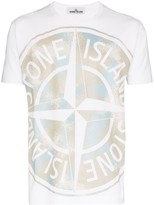 Stone Island Special Project Camp logo T-shirt