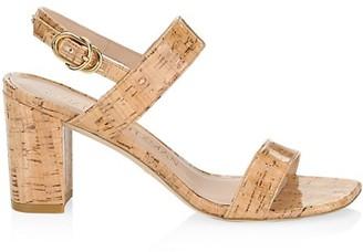 Stuart Weitzman Austine Cork Sandals