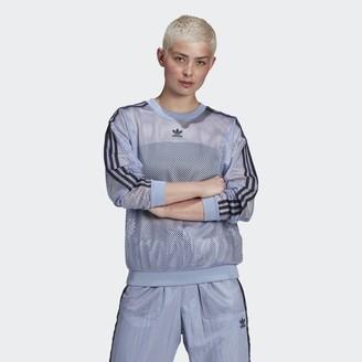 adidas Mesh Crew Sweatshirt
