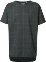 Private Stock checked T-shirt