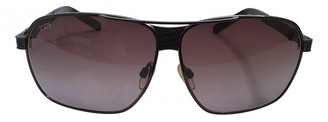 Tod's Black Metal Sunglasses