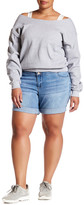 One 5 One Mid Rise 3 Button Short (Plus Size)