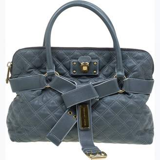 Marc Jacobs Stam Grey Leather Handbags