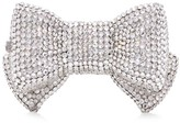 Judith Leiber Couture Bow Crystal Pillbox