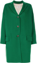 Alberto Biani flap pocket buttoned coat