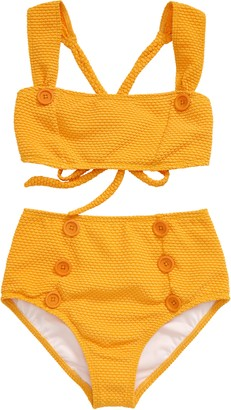 Heart And Harmony Dots Two-Piece Swimsuit