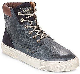 Pantofola D'oro BELLANTE UOMO MID men's Shoes (High-top Trainers) in Blue