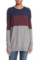 Equipment 'Rei' Colorblock Cashmere Sweater
