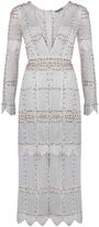 Thurley Interstellar Scalloped Panel Dress