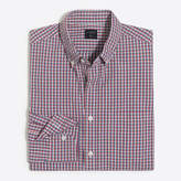 J.Crew Factory Washed shirt in mini-tattersall
