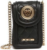 Love Moschino Quilted Cell Phone Bag