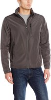 Hawke & Co Men's Packable Seam-Sealed Rain Jacket