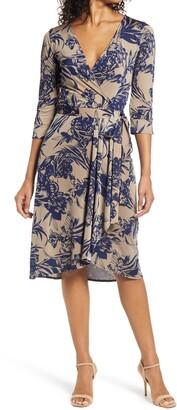 Ilse Jacobsen Floral Wrap Dress