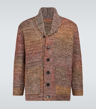 Missoni Wool-blend shawl cardigan