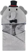 Luvable Friends Gray Elephant Hooded Towel