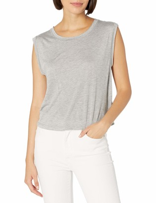 Dolce Vita Women's Heathered Hunter Tee Short Sleeve Knit Shirt