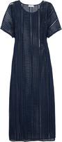Mikoh St Tropez macramé lace maxi dress