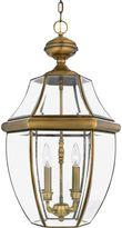 Quoizel Newbury Outdoor Extra-Large Hanging Lantern in Pewter