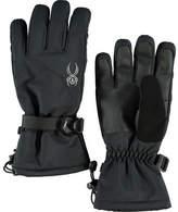 Spyder Women's Essential Ski Glove - Black/Silver Gloves