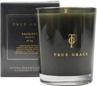True Grace - Sacristy Scented Candle - Yellow/Black