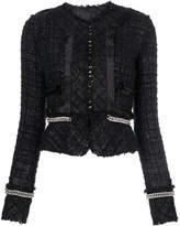 Alexander Wang deconstructed tweed jacket