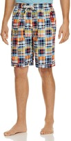 Psycho Bunny Plaid Drawstring Lounge Shorts