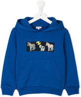 Paul Smith zebra hoodie - kids - Cotton - 2 yrs