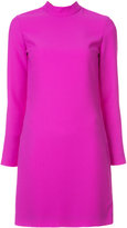 Carven high neck mini dress - women - Polyester - 2