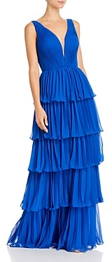 Basix II Pleated Tier Gown