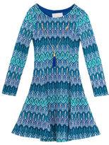 Rare Editions Girls 2-6x Knit Skater Dress