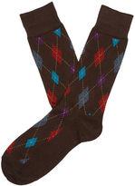 Perry Ellis Earth Diamond Sock