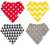 Baby Bandana Bibs by THE BLUSHING BABY