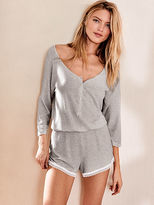 Victoria's Secret Victorias Secret Ribbed Sleep Romper