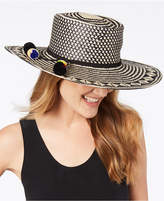 Nine West Patterned Woven Bolero Hat