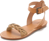 Soludos Braided Ankle Strap Sandals