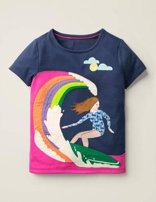 Fun Girl Applique T-Shirt