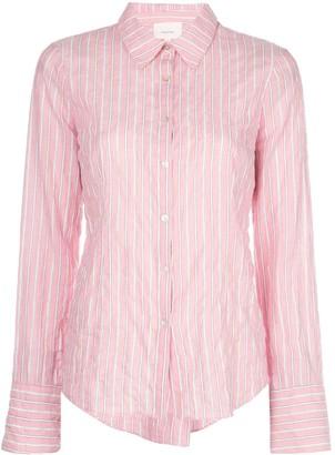 Cinq à Sept Marisol striped-print shirt