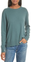 Vince Women's Cashmere Step Hem Sweater