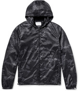 Sandro Camouflage-Print Shell Windbreaker Jacket
