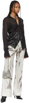 Jean Paul Gaultier SSENSE Exclusive Off-White Les Marins Trompe L'oeil Bridges Trousers