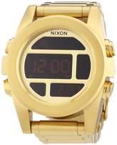 Nixon Men's Quartz Watch Unit SS All Gold A360502-00 with Metal Strap