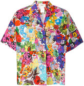 Ports 1961 floral print shortsleeved shirt - women - Cotton - 42