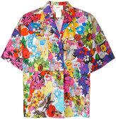 Ports 1961 floral print shortsleeved shirt