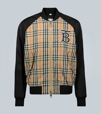 Burberry Vintage check bomber jacket