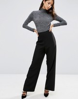 Asos Super High Waist Pant with Wide Leg