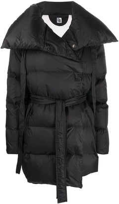 Bacon Oversized Belted Puffer Coat