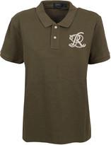 Ralph Lauren Military Green Cotton Polo Shirt