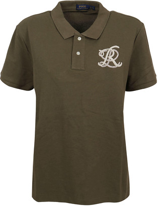 Ralph Lauren Military Green Cotton Polo Shirt